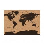 Πίνακας Ανακοινώσεων World Map Φελλός