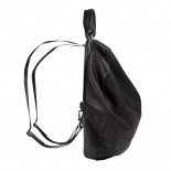 """Δερμάτινο Σακίδιο Laptop 13"""" & Τσάντα Χειρός Moselle Alias (Μαύρο) - Côte&Ciel"""