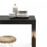 Τραπέζι Crossfade (Μαύρο) - Mogg