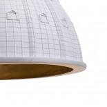 Κρεμαστό Φωτιστικό Οροφής Cupolone Quarantacinque Λευκό Seletti