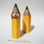 Μολυβοθήκη Dinsor Κίτρινο Qualy