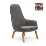 Πολυθρόνα με Ψηλή Πλάτη Era Lounge (Ξύλο) - Normann Copenhagen