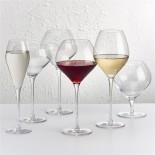 Ποτήρια Κρασιού Fantasy 770 ml Σετ των 4 Nude Glass