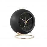 Επιτραπέζιο Ρολόι Ξυπνητήρι Globe Μαύρο Karlsson