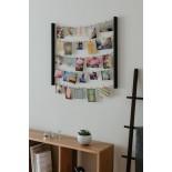 Πολυκορνίζα Τοίχου DIY Hangit (Μαύρο) - Umbra