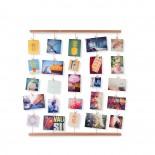 Πολυκορνίζα Τοίχου DIY Hangit Φυσικό Ξύλο Umbra