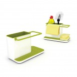Θήκη Οργάνωσης Νεροχύτη Caddy™ (Λευκό / Πράσινο ) - Joseph Joseph