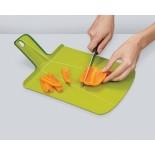 Αναδιπλούμενη Επιφάνεια Κοπής Chop2Pot™ Plus Μεγάλη (Πράσινο) - Joseph Joseph