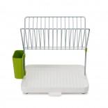 Πιατοθήκη Στεγνωτήριο Δύο Επιπέδων Y-Rack™ (Λευκό / Πράσινο) - Joseph Joseph