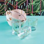 Ποτήρι Kintsugi N'3 Γυαλί / Χρυσός Seletti