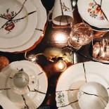 Διακοσμητικό Πιάτο / Μπολ Kintsugi N.2 Γυαλί / Χρυσός Seletti