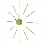 Ρολόι Τοίχου Urchin (Λαδί/Μαύρο) - KLOX
