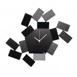 """Ρολόι Τοίχου """"La Stanza dello Scirocco"""" Μαύρο Alessi"""