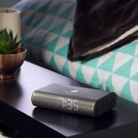 Ψηφιακό Ρολόι LED Ξυπνητήρι / Ηχείο / Ραδιόφωνο MIAMI TIME (Μαύρο) - LEXON