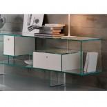Mπουφές - Γυάλινη Βιτρίνα Liber M - Tonelli Design