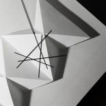Κολιέ Μενταγιόν Line L (Μαύρο) - Moorigin