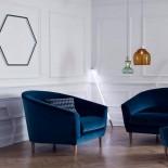 Διακοσμητικό Φωτιστικό Led Linea Μπλε Seletti