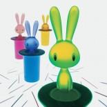 Θήκη για Οδοντογλυφίδες Magic Bunny (Πράσινο) - Alessi