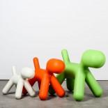Παιδικό Σκαμπό Puppy L (Πορτοκαλί) - Magis