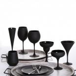 Ποτήρια Κόκκινου Κρασιού Maya Black 655 ml Σετ των 6 Espiel