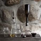 Καράφα Κρασιού Wine Breather Deluxe (Ασημί) - Menu