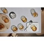 Χαμηλά Ποτήρια MERA 200 ml Σετ των 2 Χρυσό Γυαλί Blomus