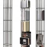 Metrica Tower Βιβλιοθήκη Μέταλλο Mogg
