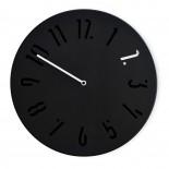 Ρολόι Τοίχου MiCLOCK Μαύρο / Λευκό Sabrina Fossi Design
