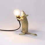 Φωτιστικό Mouse Standing Gold Step Seletti