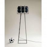 Επιδαπέδιο Φωτιστικό Multilamp Football Μαύρο - Seletti