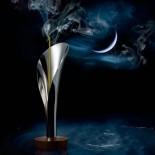 Βάση για Αρωματικά Στικ Lily (Ατσάλι / Ξύλο) - Alessi