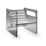 Γυάλινη Πολυθρόνα Naked  - Tonelli Design