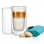 Ποτήρια Latte Macchiato 320 ml NERO Σετ των 2 Blomus