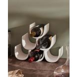 Μπουκαλοθήκη / Ραφιέρα Κρασιών Noè Λευκό Alessi