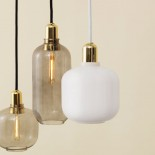 Φωτιστικό Οροφής Amp Small (Λευκό / Χρυσό) - Normann Copenhagen