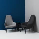 Πολυθρόνα με Ψηλή Πλάτη Era Lounge (Μέταλλο) - Normann Copenhagen