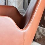 Δερμάτινη Πολυθρόνα Era Lounge (Μέταλλο) - Normann Copenhagen