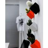 Γλαστράκι Off the Wall Small (Λευκό) - Thelermont Hupton