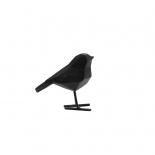 Διακοσμητικό Γλυπτό Origami Bird Small Μαύρο Present Time