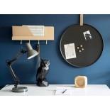 Διακοσμητικό Γλυπτό Origami Owl Μαύρο Present Time