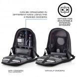 Αντικλεπτικό Σακίδιο Bobby Hero XL (Μαύρο) - XD Design