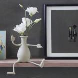 Εύκαμπτο Βάζο για Λουλούδια FLORINO (Γκρι) - Peleg Design