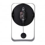 Ρολόι Τοίχου με Εκκρεμές Charm Small Μαύρο Karlsson