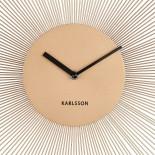 Ρολόι Τοίχου Peony Χρυσό Ατσάλι Karlsson