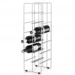 Βάση για 12 Μπουκάλια Κρασιού Pilare Ματ Ατσάλι Blomus