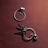 Μπρελόκ / Κρίκος Κλειδιών Pip Ανοξείδωτο Ατσάλι Alessi