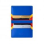 Πορτοφόλι Primary Recycled Leather Μπλε / Κόκκινο MoMa