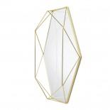 Καθρέφτης Τοίχου Prisma (Χρυσό) - Umbra