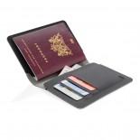 Θήκη Καρτών & Διαβατηρίου με RFID-Blocking Quebec Μαύρο XD Design