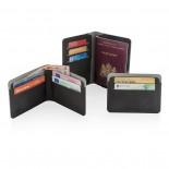 Πορτοφόλι με RFID-Blocking Quebec Μαύρο XD Design